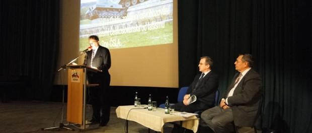 Торжественный вечер, посвященный 69-ой годовщине Карпатско- Дуклинской операции в РЦНК в Праге