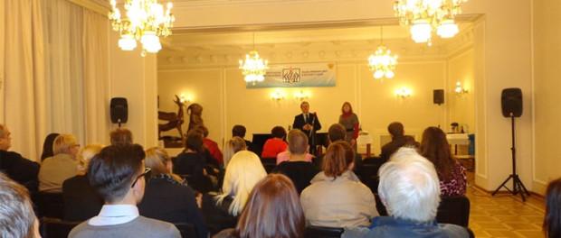 Večer přátelství studentů kurzů ruského jazyka při RSVK v Praze