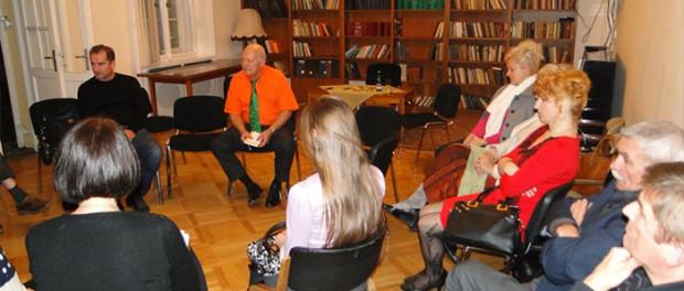 Встреча Союза русскоязычных писателей в Чехии в РЦНК в Праге