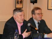Встреча с чемпионом мира по шахматам Анатолием Карповым в РЦНК в Праге