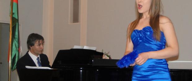 Концерт, посвященный Международному женскому дню, для жителей Праги
