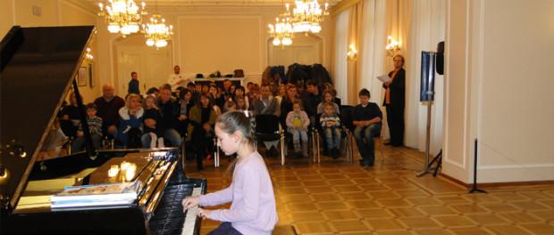 Koncert hudební školy «Gradus ad Parnassum»