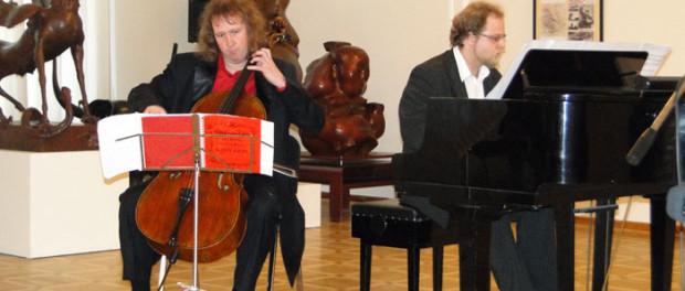 Вечер памяти Мстислава Ростроповича в РЦНК в Праге