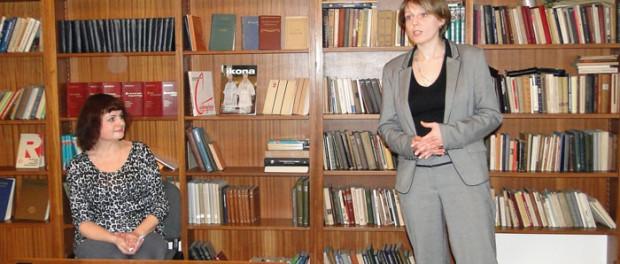 Заседание литературной студии в РЦНК в Праге