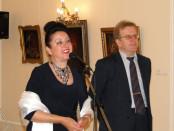 Открытие выставки Татьяны Романовой «Тайна мудрости» в РЦНК в Праге