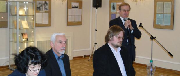 Круглый стол РЦНК в Праге, посвященный русскому философу Ивану Лапшину, в РЦНК в Праге