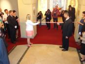 Открытие исторической выставки в чешском городе Усти над Лабем