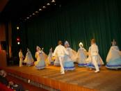 Выступление ансамбля народного танца «Юность» в РЦНК в Праге