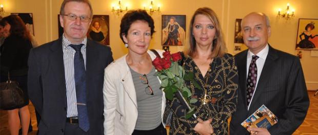 Výstava Jekatěriny Rožděstvěnské v RSVK v Praze