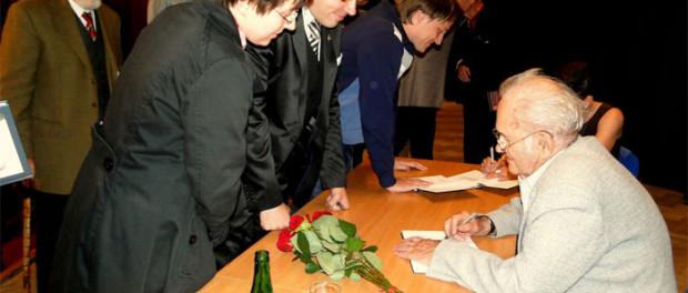 Презентация книги чешского писателя Ярослава Гойдара «Побег от смерти» в РЦНК в Праге