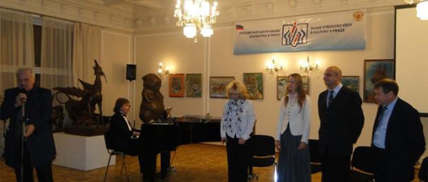 Творческий вечер театра «За Черной речкой» из Санкт-Петербурга в РЦНК в Праге