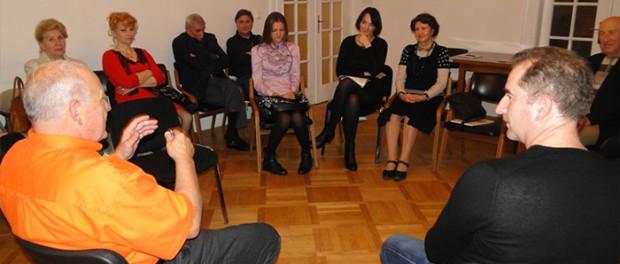 Setkání Svazu ruskojazyčných spisovatelů v ČR v RSVK v Praze