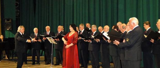 Koncert mužského sboru  Vídeňské společnosti Franze Schuberta (Rakousko) v RSVK v Praze