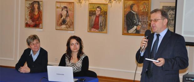 Презентация новой книги на русском языке в РЦНК в Праге