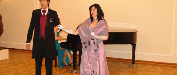 Koncert ke Dni diplomata Ruska v RSVK v Praze