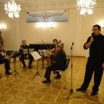 Концерт Государственного струнного квартета им. П.И. Чайковского в РЦНК в Праге