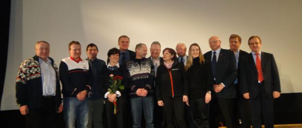 Setkání s českými sportovci v RSVK v Praze