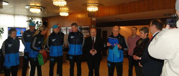 Первый день Олимпиады в РЦНК в Праге
