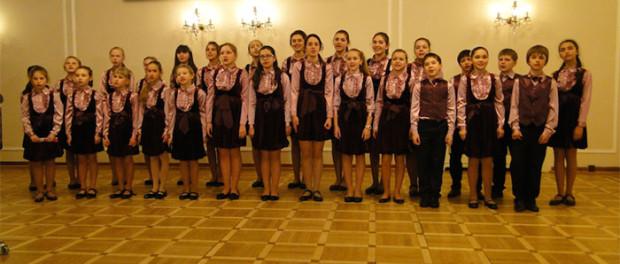 Концерт московского детского хора «Канон» в РЦНК в Праге