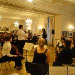 Концерт молодых артистов Государственной пражской консерватории в РЦНК в Праге