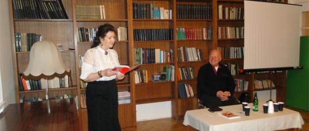 Setkání členů Svazu ruskojazyčných spisovatelů v RSVK v Praze