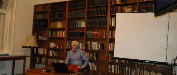Заседание литературной студии Европейского конгресса литераторов в РЦНК в Праге