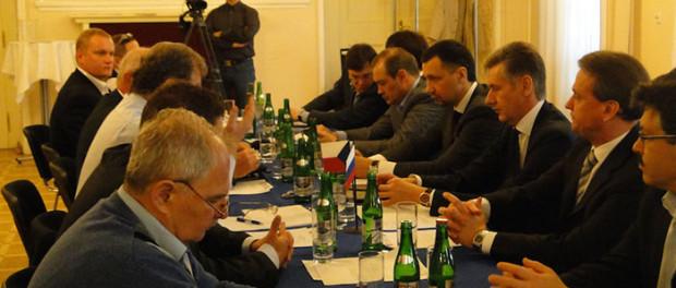 Zasedání Obchodních rad podnikatelů Ruska a Česka a obchodní seminář v RSVK v Praze