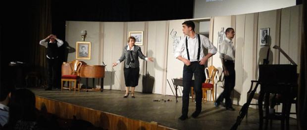 Vystoupení studentského divadla z Jerevanu v RSVK v Praze