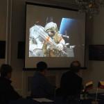 Встреча с космонавтом Сергеем Рязанским в РЦНК в Праге