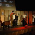 Выступление студенческого театра из Еревана в РЦНК в Праге