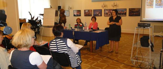 Презентация нового учебника по русскому языку в РЦНК в Праге
