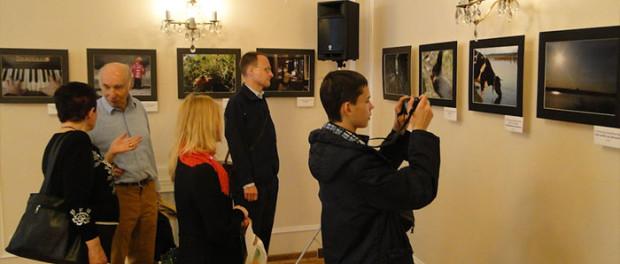 Výstava běloruského fotografa Stanislava Karbanoviča v RSVK v Praze