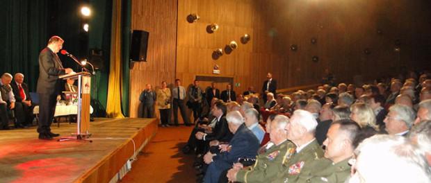 Slavnostní večer pro ruské a české veterány v RSVK v Praze