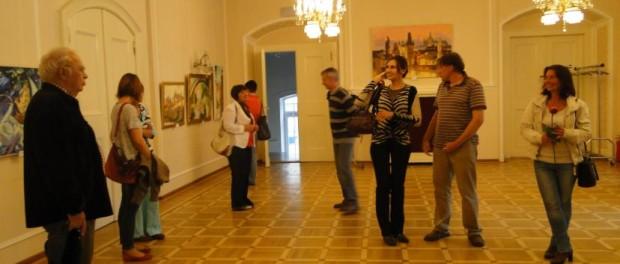 "Výstava  ""Impresionistický svět Novikovových"" v RSVK v Praze"