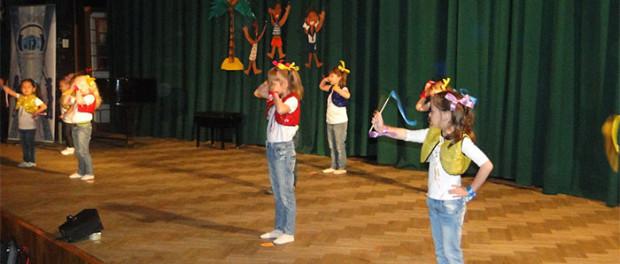 Концерт Детской эстрадной студии «MIX» в РЦНК в Праге