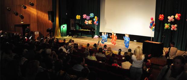 """Dětský festival """"Pruhovaná žirafa"""" v RSVK v Praze"""