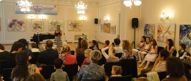 """Koncert dětského hudebního studia """"Cantabile"""" v RSVK v Praze"""