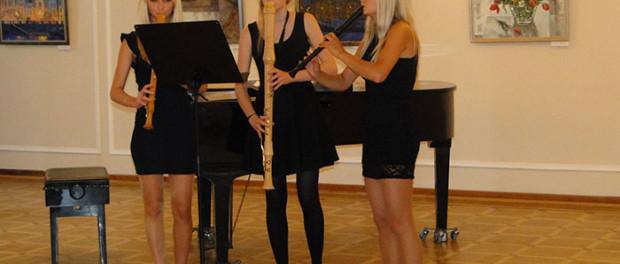 Koncert dětské hudební školy «Gradus ad Parnassum» v RSVK v Praze