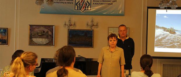 Setkání s českým cestovatelem Jiřím Moučkou v RSVK v Praze
