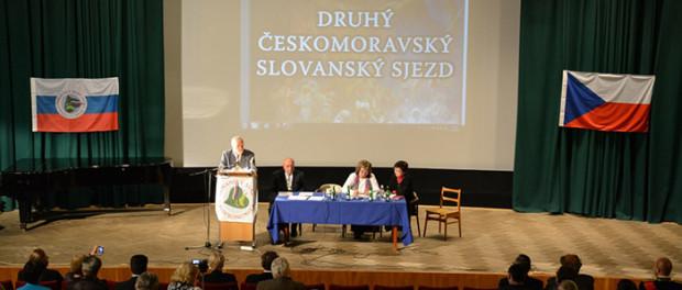 Sjezd Českomoravského slovanského svazu  v RSVK v Praze