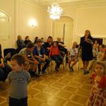 Урок актерского мастерства для детей соотечественников в  РЦНК в Праге