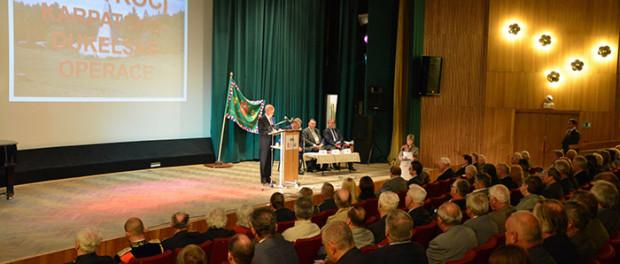 Večer věnovaný 70. výročí Karpatsko – dukelské operace