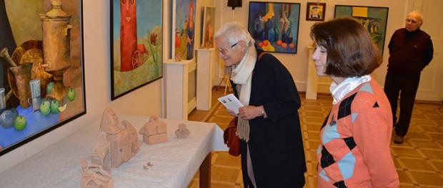 """Výstava  """"Prostranství čtverce"""" v RSVK v Praze"""