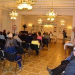 Презентация книги «Крестом, не мечом» в РЦНК в Праге