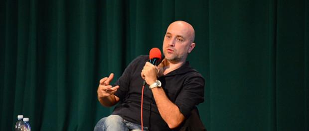 Setkání s ruským spisovatelem Zacharem Prilepinem v RSVK v Praze