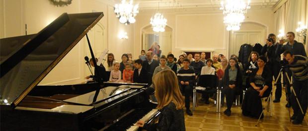 Dětský koncert v RSVK v Praze