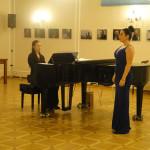 Отчетный концерт в РЦНК в Праге