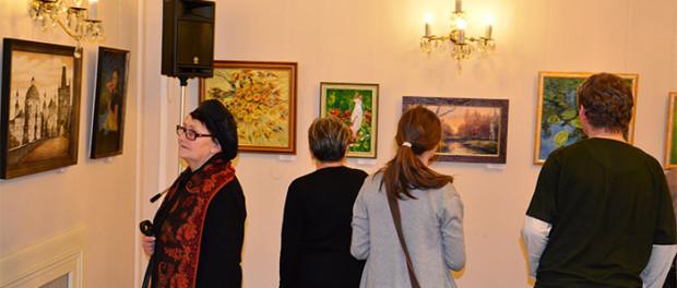 Zahájení výstavy ruských malířů z Maďarska v RSVK v Praze
