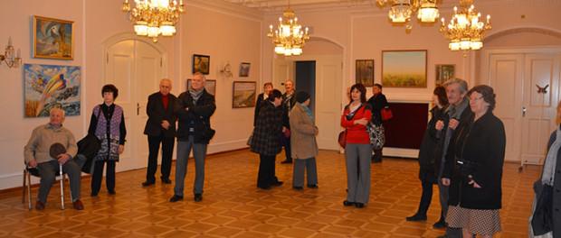 """Výstavy """"Predanie stariny ulybkoj"""" a """"Milaja mojemu serdcu Rossija"""" v RSVK v Praze"""