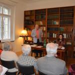 Творческая встреча российской писательницы Майи Коротчевой в РЦНК в Праге